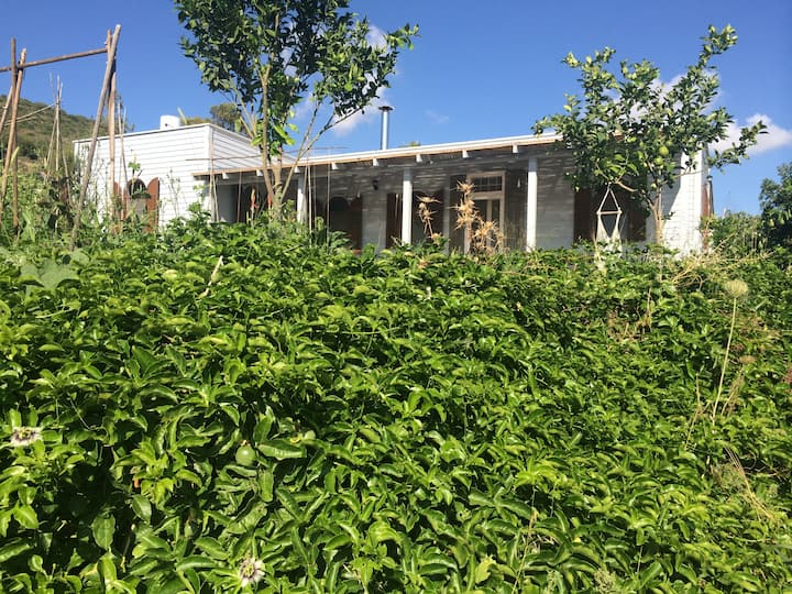 Hillside Villa with Sea View