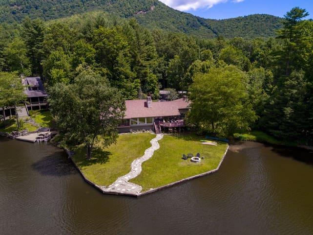 Lovely Lakefront Cottage Among The Blue Ridge Mnts