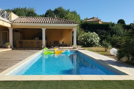 Grande villa avec piscine et vue exceptionnelle - 貝濟耶(Béziers) - 獨棟