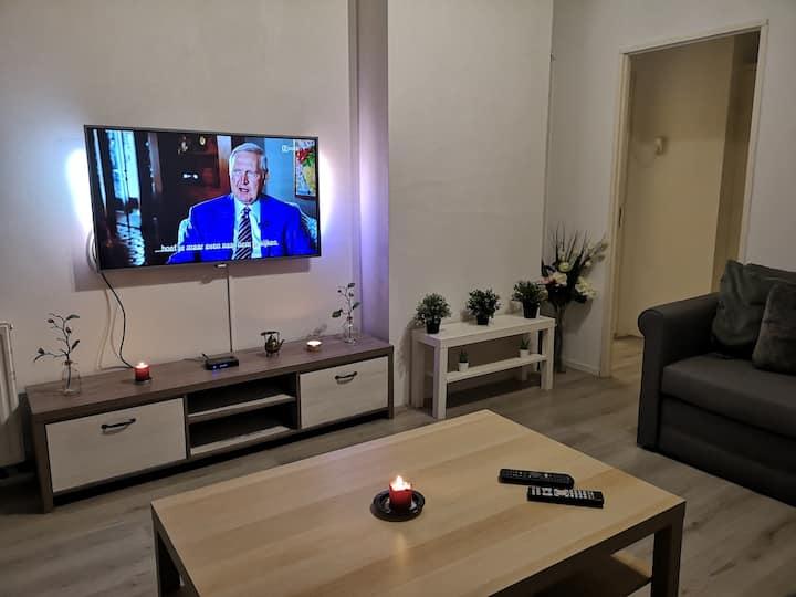 Comfortable apartment near city center.