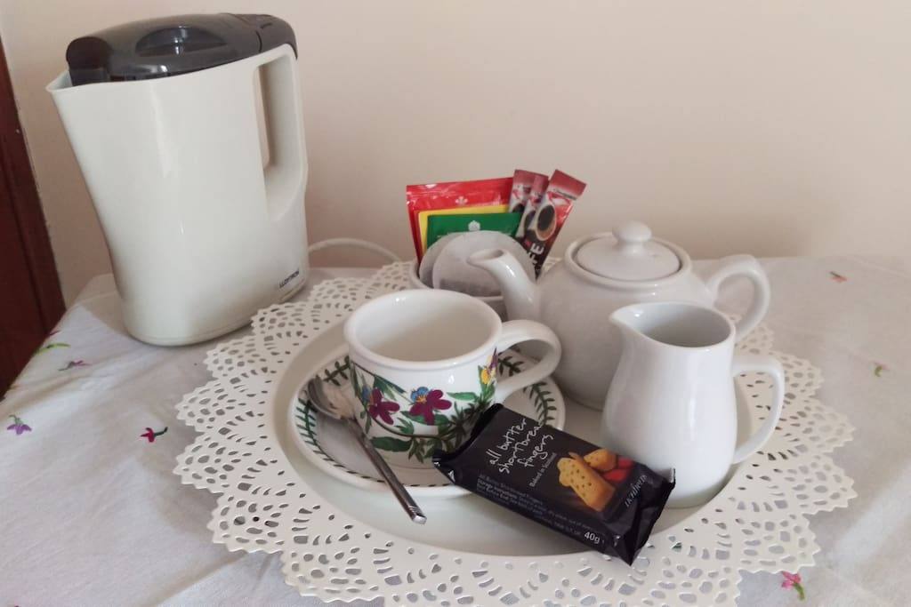 Tea and Coffee in your room