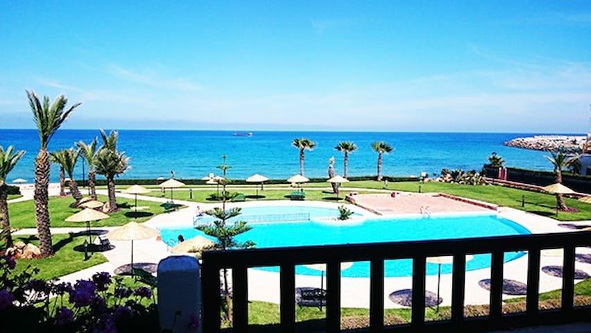 Appartement splendide vue sur mer à Marina Beach - Marina Smir - Apartemen
