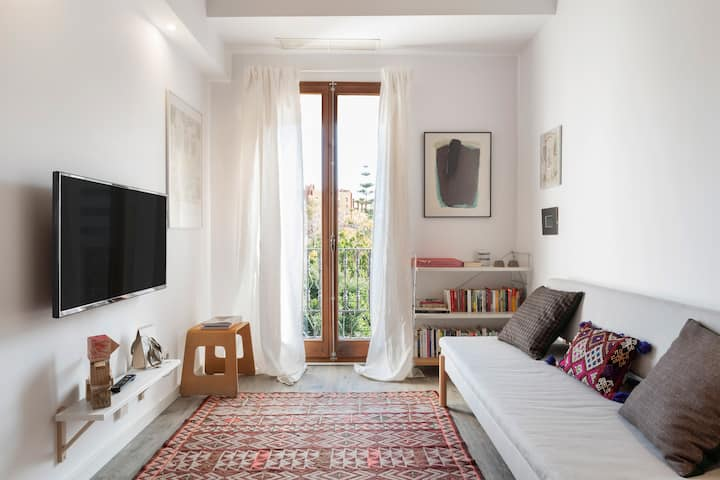 Beautiful One Bed Apt w/Terrace in Poble Nou