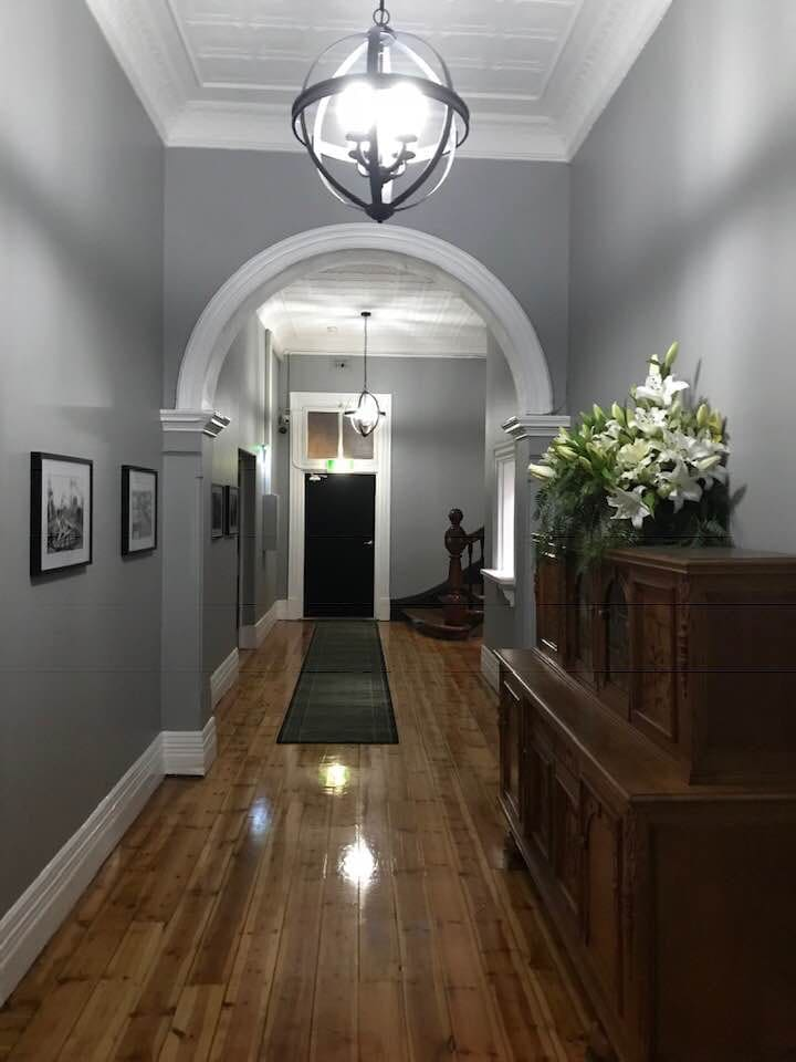 Magnificent main entrance way