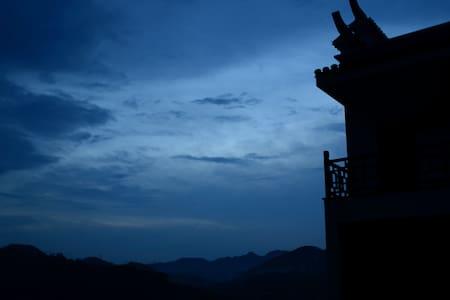 湖山雅苑,湖景双床房,带花园,在此山水意境相融。 - Shaoxing Shi - Villa