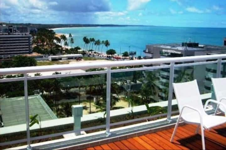 Flat in a Luxury Condo on the Seafront of Maceió!