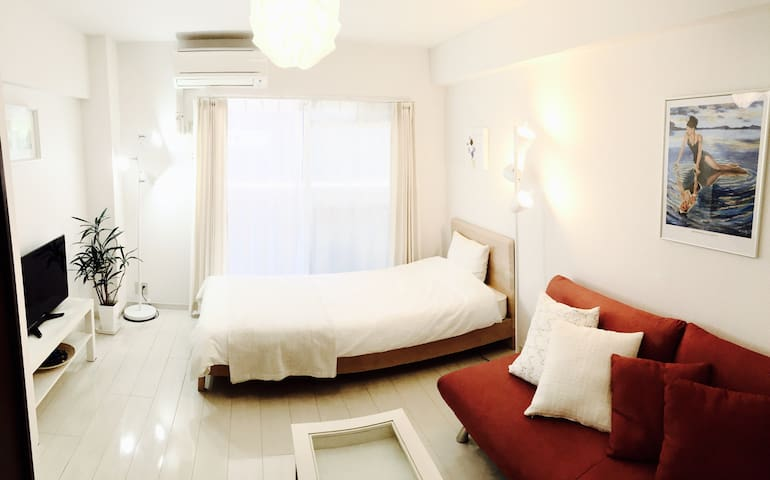 Best Location.close to Tenjin downtown!! - Chuo Ward, Fukuoka - Appartement