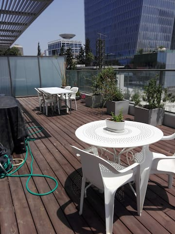New apt in the center of Tel Aviv, huge balcony!