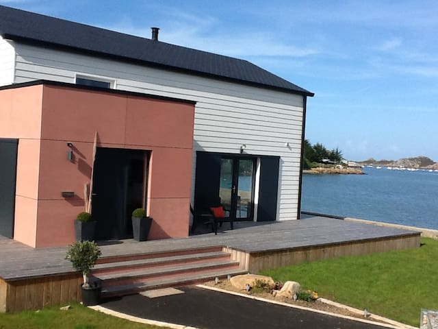 maison vue mer accès direct plage - Plougasnou - Huis
