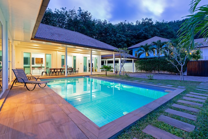 Seaview Boutique Pool Villa ⛱ 4 Bedrooms, Peaceful
