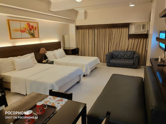 Naya & Darla's 9th Staycation Facing Taal for 8