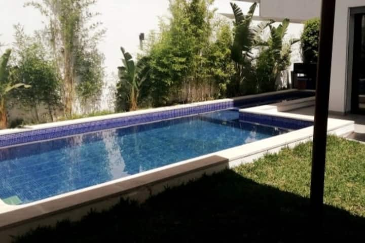 Modern house with pool (Soukra)