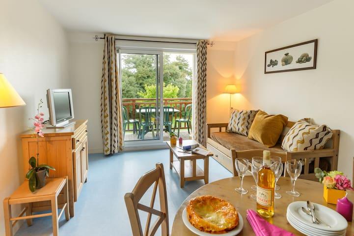 Appartement cosy pour 4 | Près de la plage et du golf de Dinard!