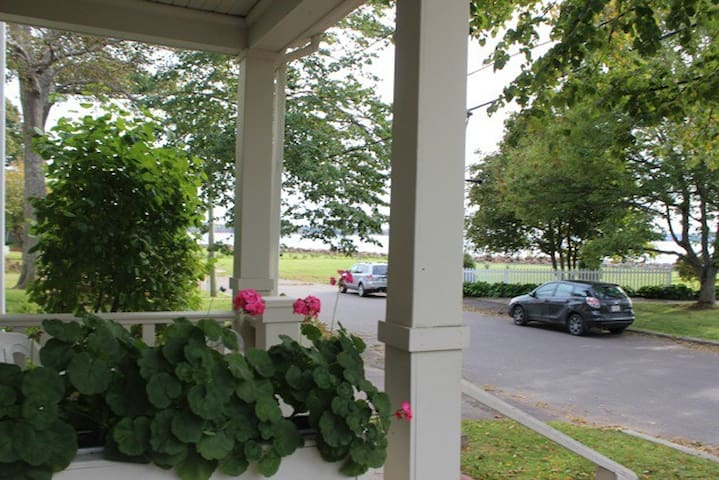 View from the front entrance - Charlottetown Harbor across the street