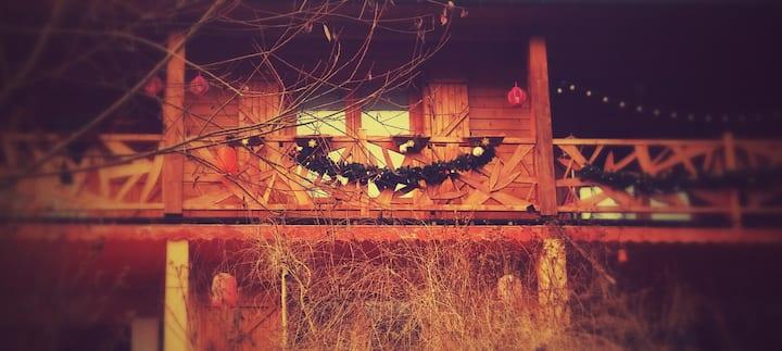 Chambre à la lisière de la forêt proche de Nancy.
