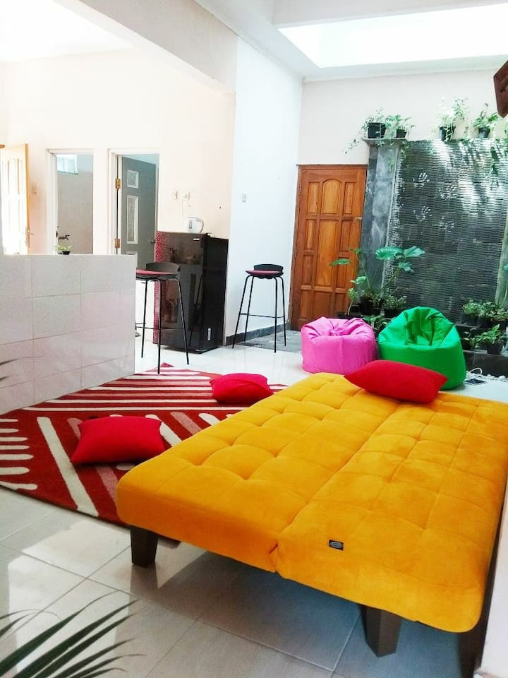 One house 3 rooms, 7 mnts to Malioboro  RM HOUSE 3