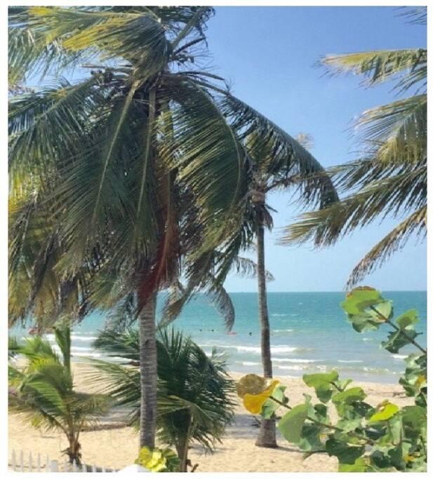 Vista playas desde el condominio.