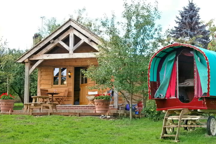 Copperbeech Bowtop, Gypsy Wagon & Cabin