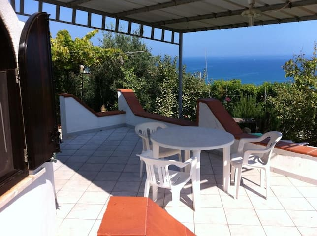 House for rent Castellammare del Golfo beach view
