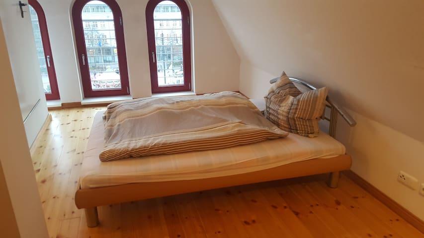 Traumhafte Dachgeschosswohnung im Herzen Rostocks - Rostock - Apartment