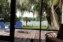 Spacious Room on lake near downtown Orlando.
