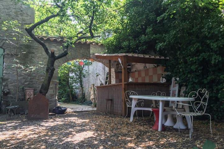 Maison de charme dans le Minervois - Siran - Huis