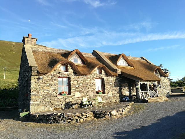 Thatched Irish Home with Sea Views