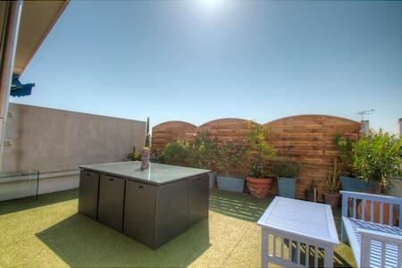 Appartement terrasse sur le toit - Antibes