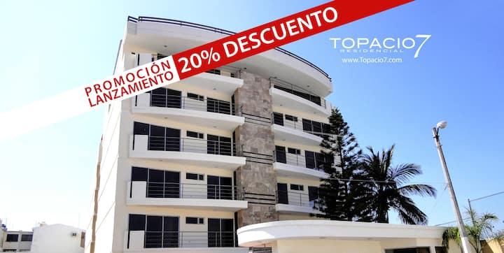 Depa de 2 recamaras en Topacio7 Boca del Rio - 305