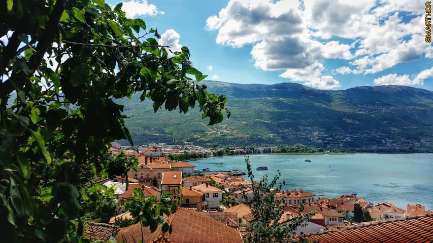 Lake view apartment in the old town - Villa Ohrid