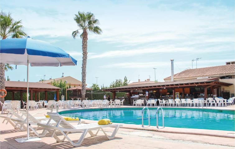 Holiday apartment with 2 bedrooms on 42m² in Los Narejos