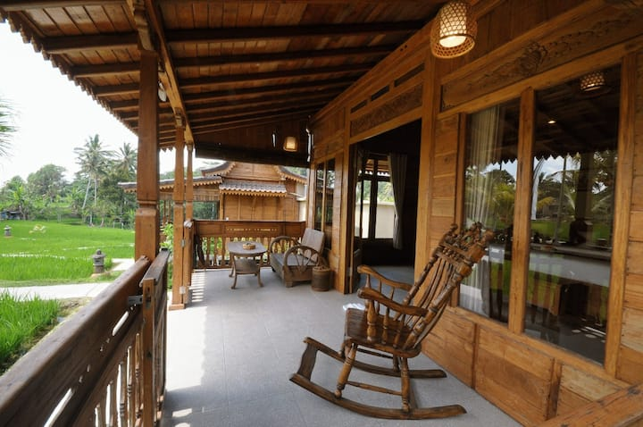 Sebatu Eco Lodge Villa Private Pool Room Only