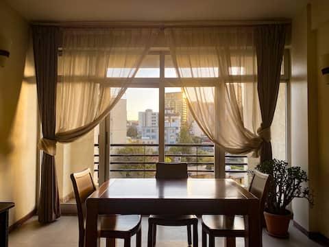 Tweepersoonsappartement met prachtig uitzicht op de stad   Central Addis