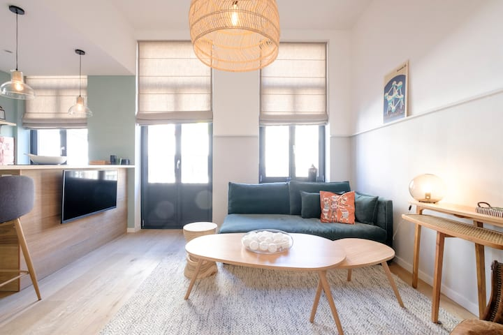 Lovely 1 bedroom next to le Châtelain