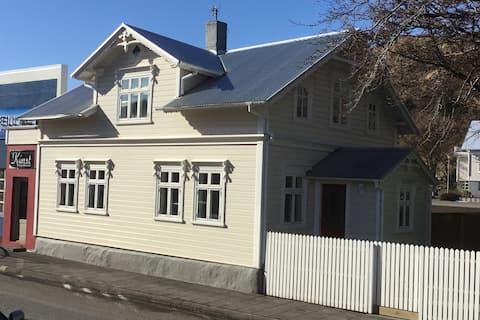 Miklibær in the heart of Sauðárkrókur