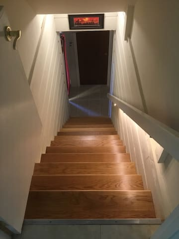 Staircase to Cozy Room