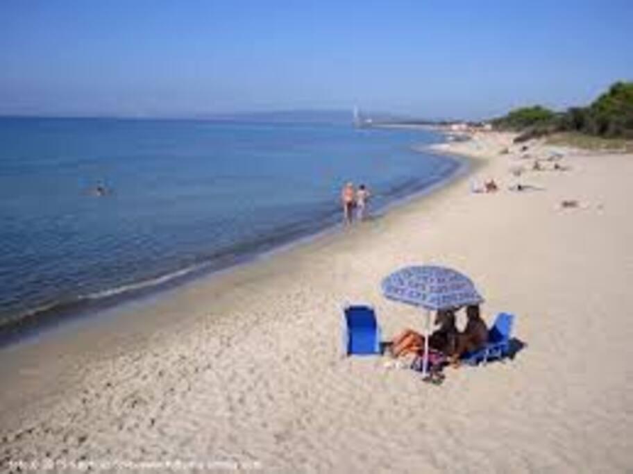 spiaggia Follonica 200m da casa