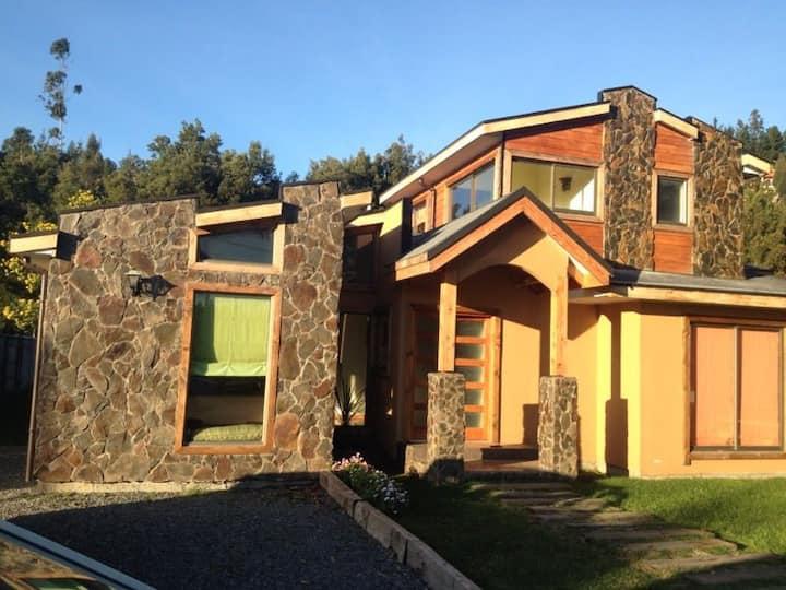 Casa Quincho en Pingueral 10 Pax