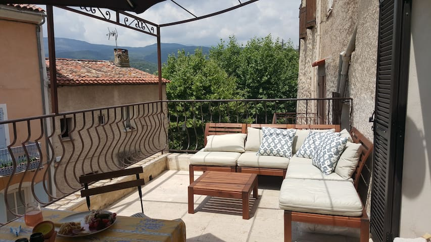 APPARTEMENT MEDIEVAL EN PROVENCE - Fayence - Daire