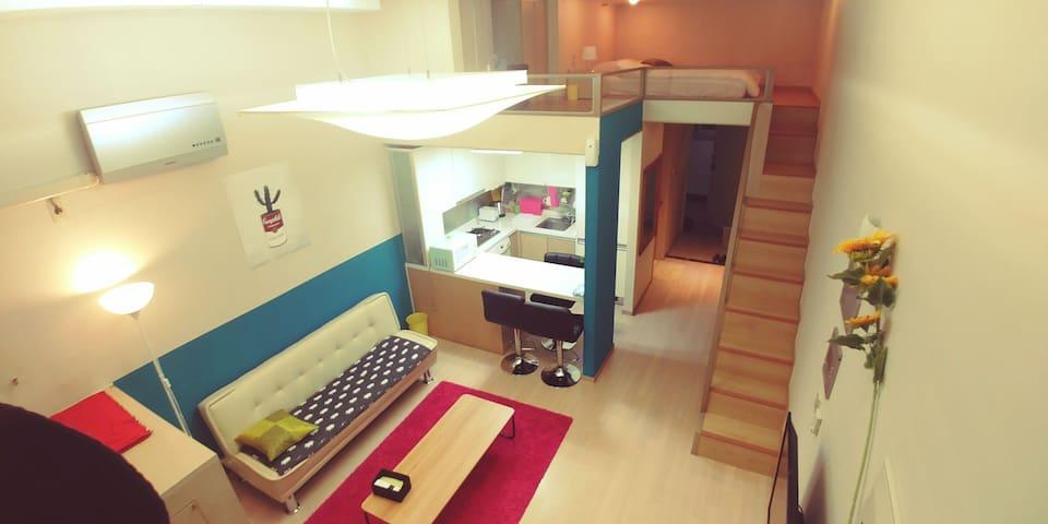 """near KINTEX """"Loft Style"""" 2Bed(Q+SS Sofa bed) - 고양시, KR - Loft"""