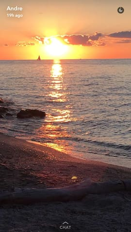 Condo on the shores of Lake Erie in Vermilion - Vermilion - Lejlighedskompleks