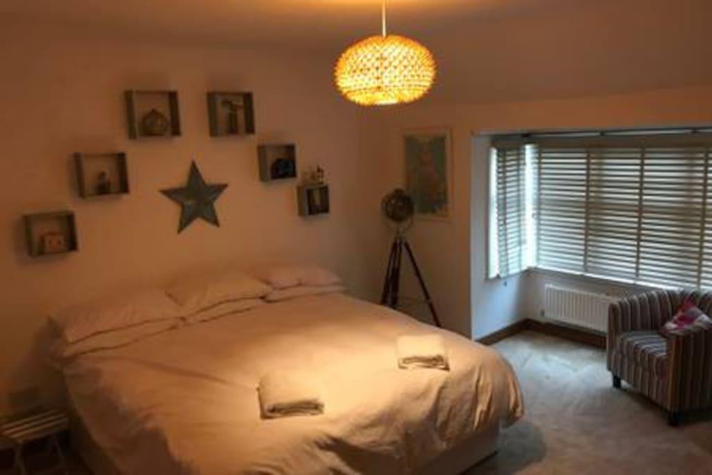 Bedroom as Super King Room