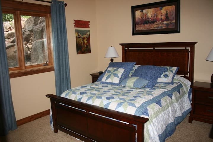 Eclipse in Victor Idaho - Queen Bed Downstairs - Victor - Pousada
