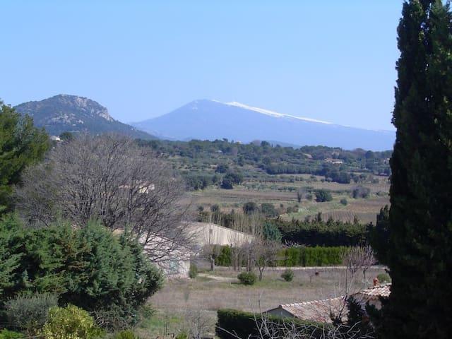 Maison en Provence, entre vignes et Mt-Ventoux - Beaumes-de-Venise - 一軒家