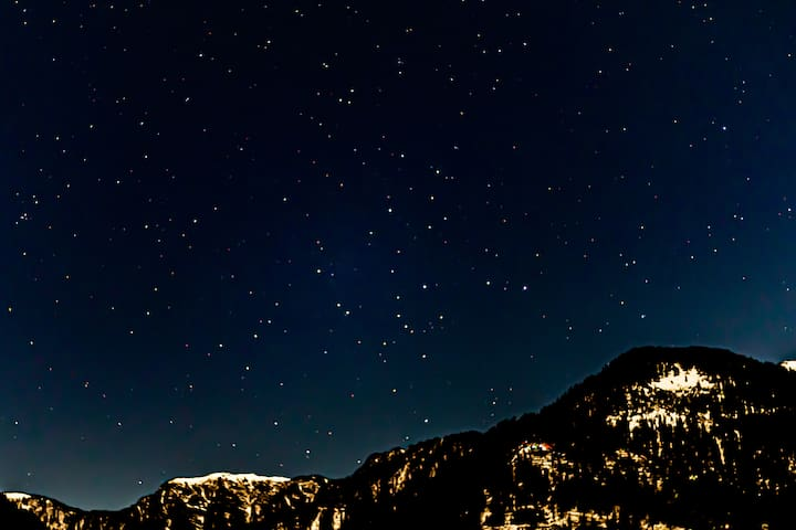 Stargazing |Snow view|free wifi | Freebird nest 4