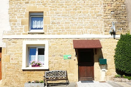 House with 2 bedrooms in Marville, with wonderful mountain view, furnished garden and WiFi