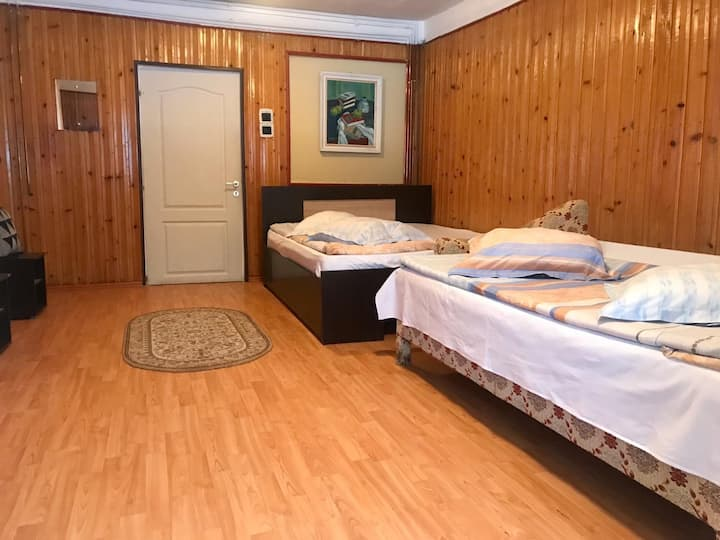 Cabana Veche Azuga- Camera 2 adulti si 2 copii