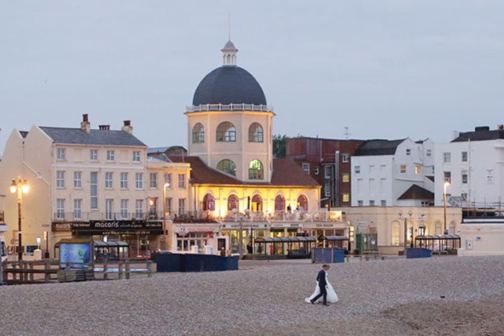 The beautiful Dome Cinema on Worthing seafront.