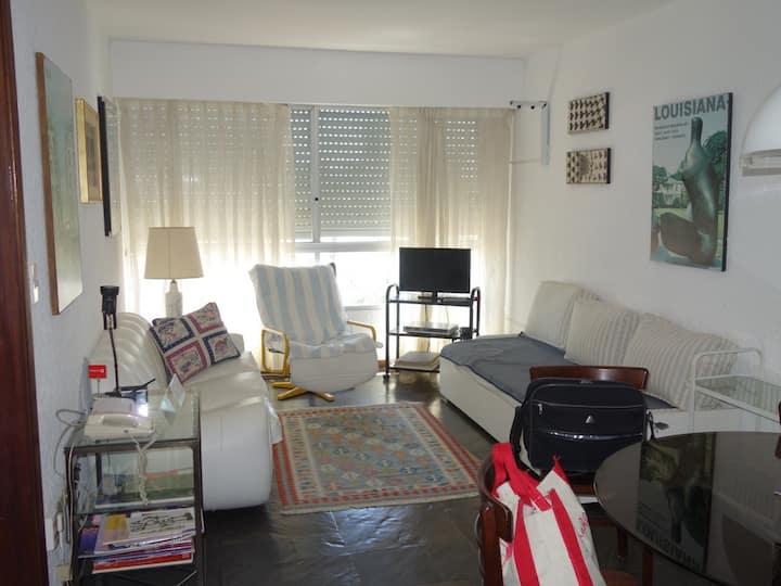 El apartamento justo, a metros del mar