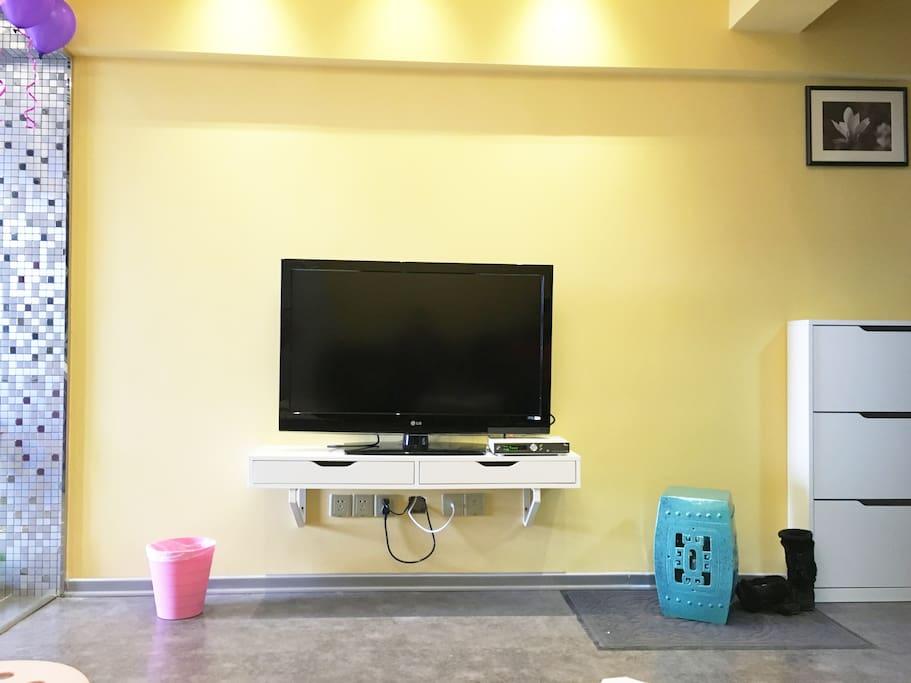 从沙发角度看客厅